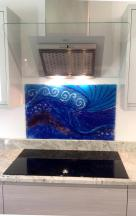 A glass splash-back made especially for your kitchen will be stunning. Goodhand Glass
