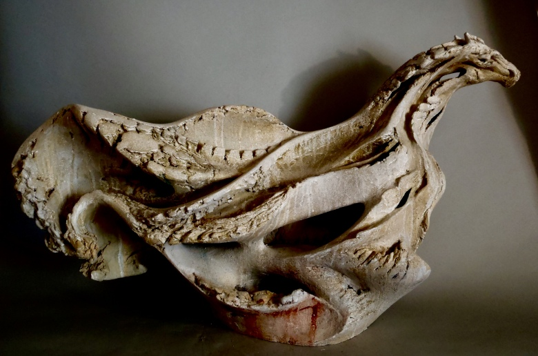 Leviathan, 56cm H x 97cm L x 28cm D, Rebecca Buck.