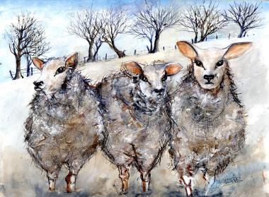 Julia Harris - https://artsinthetawevalley.com/julia-harris-watercolour-and-mixed-media/