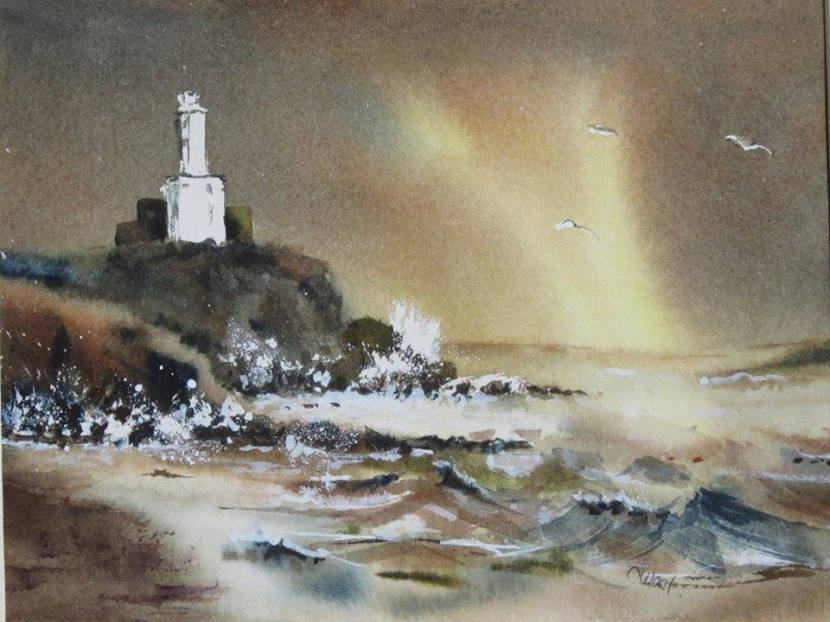 Carol West, painting