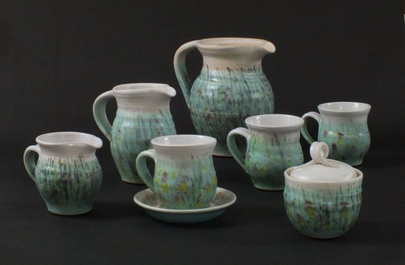 Carole Spackman, ceramic sculpture and tableware