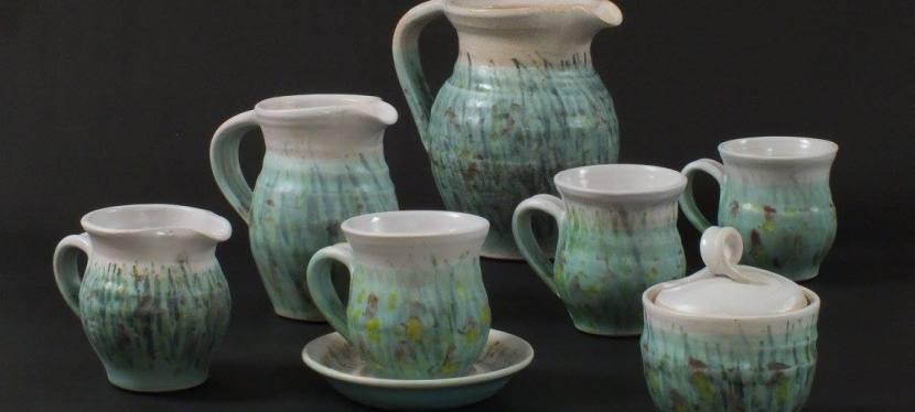 Carole Spackman, ceramic sculpture andtableware