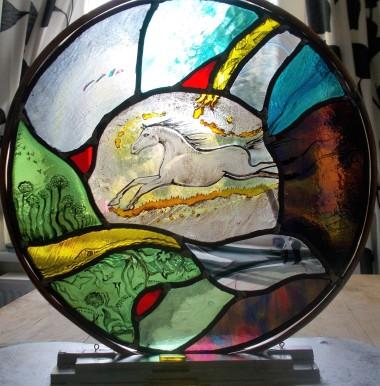 Jane Carpenter - https://artsinthetawevalley.com/jane-carpenter-stained-glass/