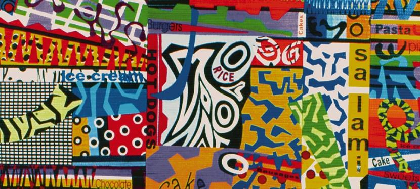 Bethan Ash – collage,textiles