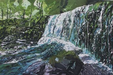 Jude Flaherty - https://artsinthetawevalley.com/jude-flaherty-batik-mixed-media/