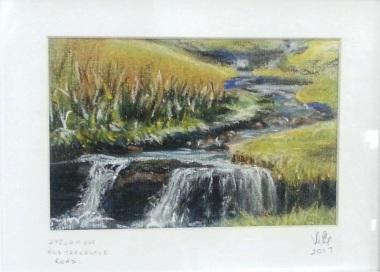 Christine Evans - https://artsinthetawevalley.com/christine-evans-painting-and-pastels/