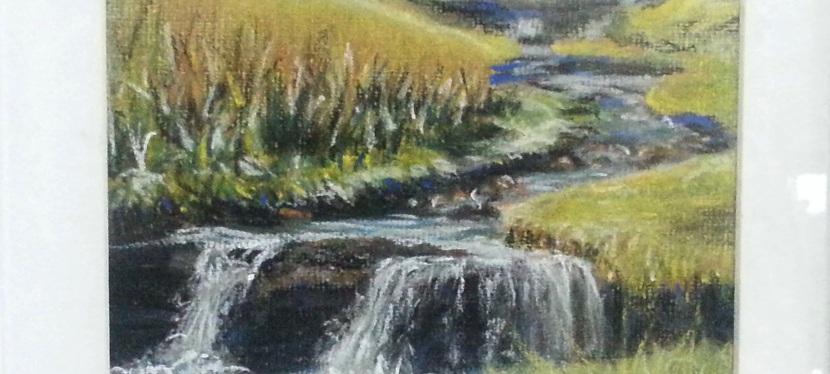 Christine Evans, painting andpastels