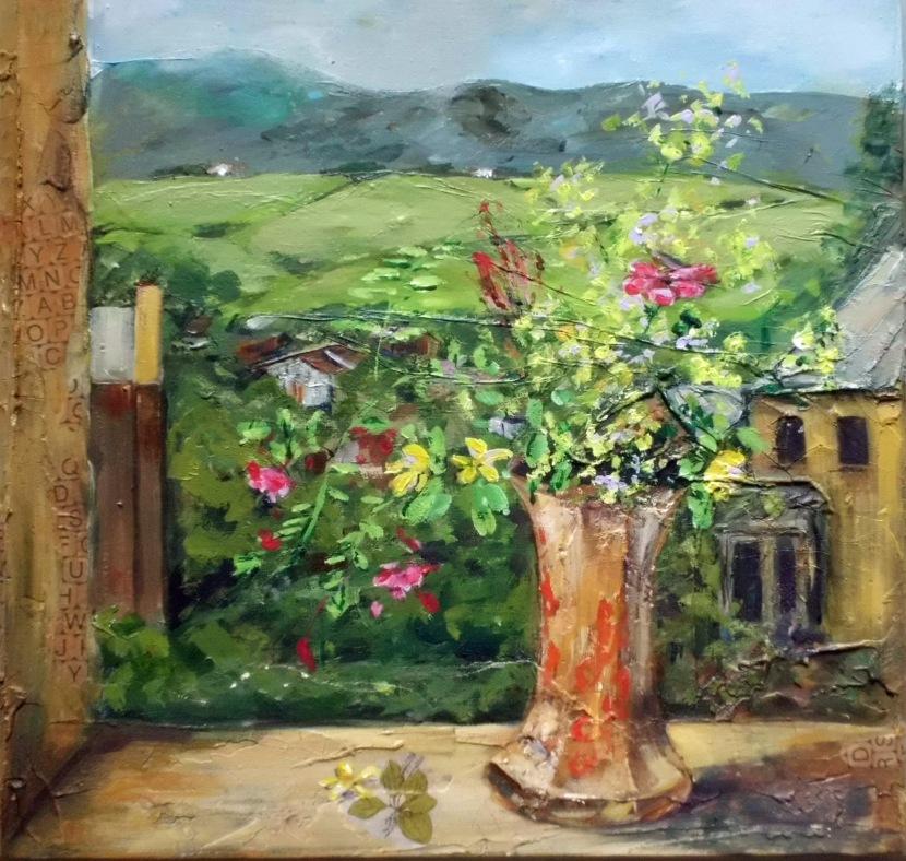 Jean McIntyre, oils andacrylic