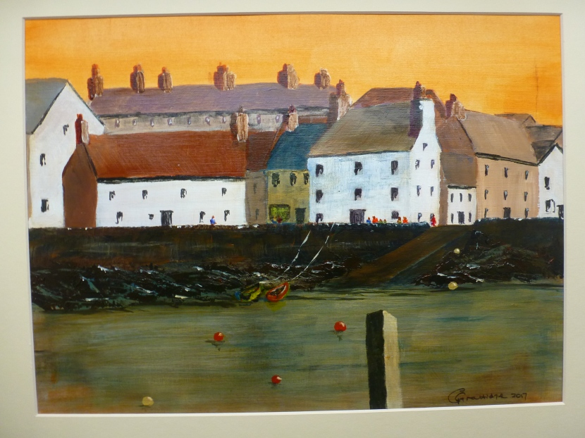 Gordon Grattidge, acrylic andwatercolour
