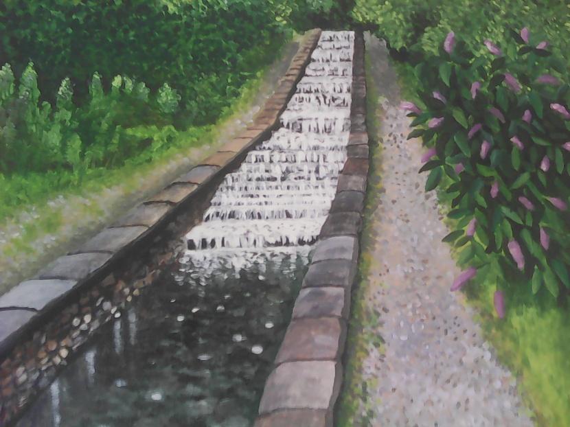 Ian Fair, painting
